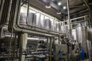 Brewing tank